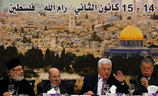 المركزي الفلسطيني : تعليق الاعتراف بإسرائيل ووقف التنسيق الامني وإنفكاك إقتصادي