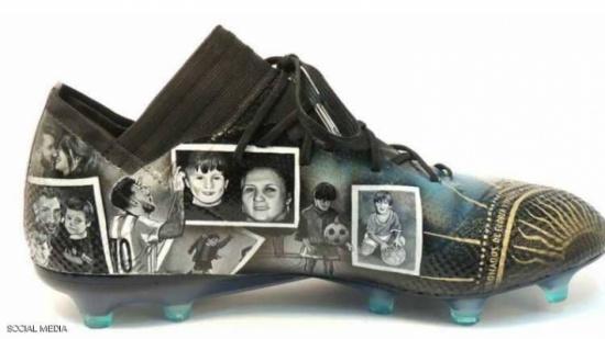 أحذية ميسي الجديدة تروي قصة حياته