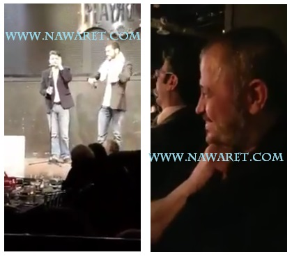 بالفيديو- جورج وسوف يضحك على تقليد ممثل له في إحدى المسرحيات