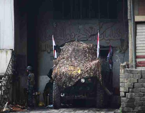 """تنظيم """"داعدش"""" يأسر عقيدا و8 ضباط شرطة غرب الموصل… ومقتل 23 على الأقل في تفجير سيارة ملغومة جنوب بغداد"""