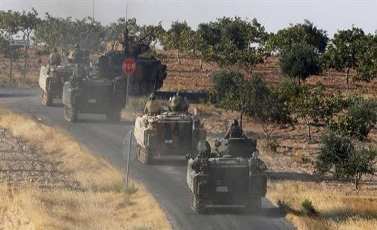 رتل عسكري تركي يدخل ريف حلب الجنوبي