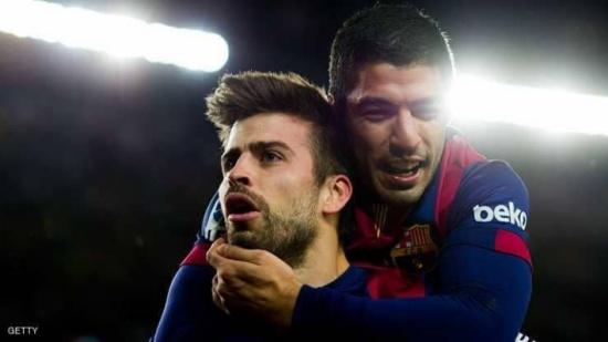 بيكيه يجنب برشلونة الخسارة الأولى هذا الموسم