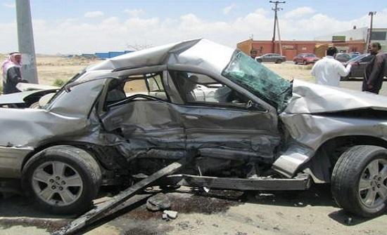 7 إصابات في حادث تصادم بالزرقاء