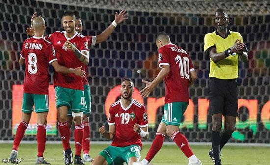 منتخب المغرب يبلغ ثمن نهائي كأس أمم أفريقيا