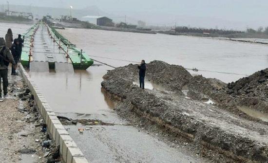 إغلاق معبر حدودي شمالي العراق جراء الأمطار والسيول