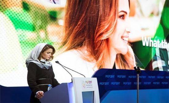 الملكة :ملايين العرب لفظتهم أحضان أوطانهم فهربوا بحياتهم وأحلامهم