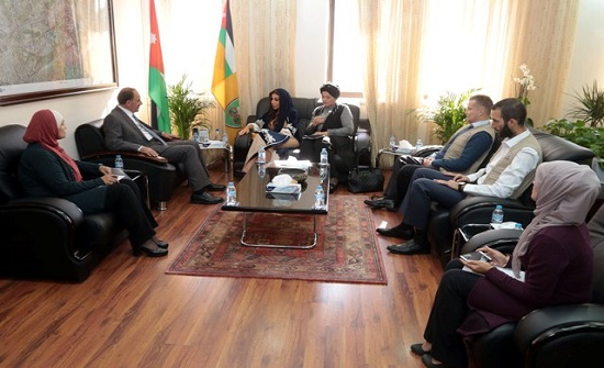 """""""الأردنية"""" و""""إطعام للتنمية والتدريب"""" تبحثان إمكانية التعاون"""
