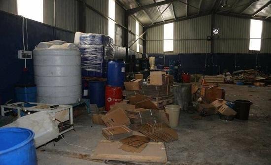 تشكيل فريق خاص للتحقيق بمصنع المواد المخدرة الأول في الأردن