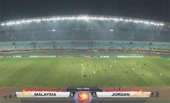 الأردن يهدر الفوز للمرة الثانية في بطولة آسيا