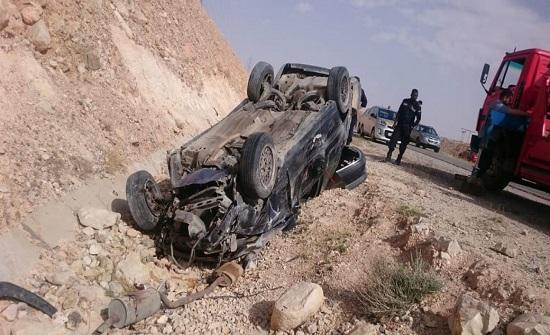 وفاة مواطن وإصابة آخر بحادث تدهور في الطفيلة