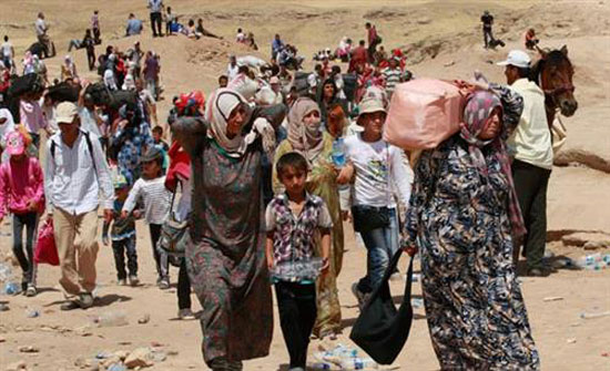 «يونيسيف» تحذر من تدهور أوضاع عشرات آلاف السوريين على الحدود مع الأردن
