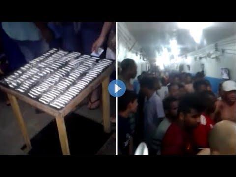 فيديو.. لقطات صادمة لسجناء يصطفون لتعاطي الكوكايين بحماس في البرازيل