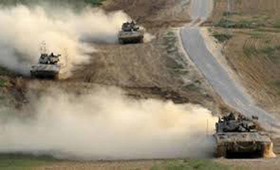 غزة..قوات الاحتلال الاسرائيلي تتوغل في بيت لاهيا