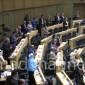 بالفيديو .. النواب يقرأون الفاتحة على أرواح ضحايا حافلة العمرة الفلسطينيين
