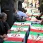 فيديو : إيران تشيع عشرات الجثث من الحرس الثوري في معارك تكريت