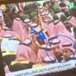 راشد الماجد وماجد المهندس في عزاء الملك عبد الله بقصر اليمامة بالرياض