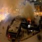 بالفيديو: حريق هائل يأتي على 14 مليون كتاب من أهم الكتب التاريخية النادرة