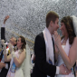 """بالصور.. 3800 شخص يدخلون """" القفص الذهبي """" بأكبر زواج جماعي في كوريا الجنوبية"""