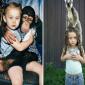 صور في كتاب التقطت علاقة غريبة بين طفلة وحيوانات