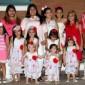 الأم الخارقة ولدت ١٤ بنتا وتدبر لهم ٤٢ وجبه يوميا