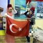 إقبال كبير على المعرض التركي بجامعة العلوم الأردنية