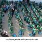 تنفيذ مشروع شقيقي بالعلم نعمرها في مخيم الزعتري