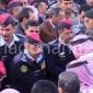 بالصور والفيديو  .. محافظ اربد يعزي عائلة الجراروه باستشهاد اسامه
