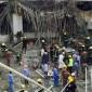 انهيار مبنى بجامعة القصيم السعودية يثير ضجة على ''تويتر''
