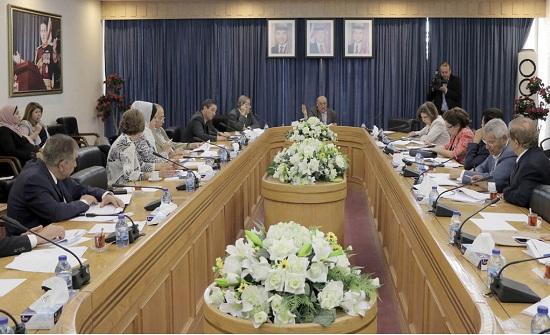 قانونية الاعيان تواصل مناقشة تعديلات النظام الداخلي للمجلس