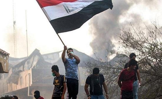 العراق.. اشتباكات بين المتظاهرين وقوات الأمن في ذي قار