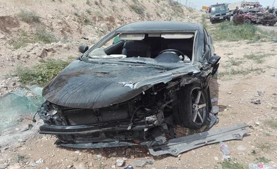 وفاة شخص وإصابة أربعة آخرين اثر حادث تصادمفي محافظة الزرقاء