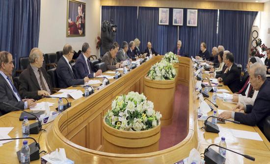 مشتركة في الأعيان تُوافق على مُعدل إعادة هيكلة مؤسسات حكومية