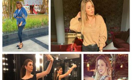 صور .. عروض أزياء زوجات نجوم الكرة