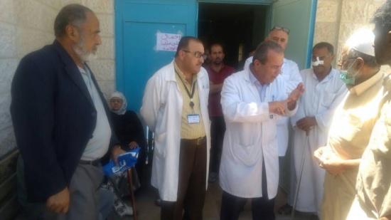 وقفة لمرضى الكلى في مستشفى جرش الحكومي