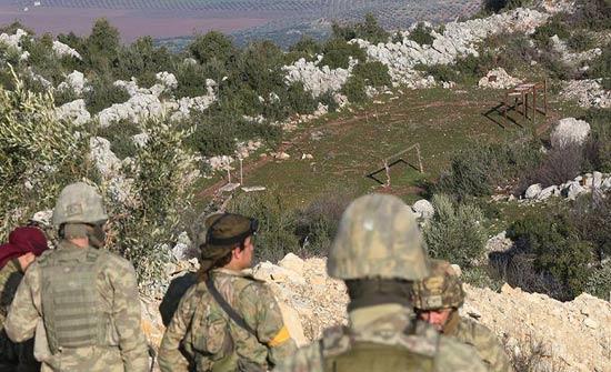 الجيش التركي يسيطر على معسكر تدريب للتنظيمات الإرهابية غربي عفرين السورية