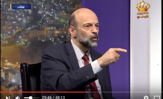 فيديو :  شاهد ماذا يقول وزير التربية عمر الرزاز عن امتحان التوجيهي
