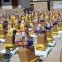 استكمال توزيع المساعدات الغذائية في المفرق