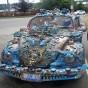 بالصور.. شاهد إبداع أصحاب السيارات في تزيين سياراتهم