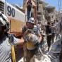 رجال الإنقاذ انتشلوا العديد من الأطفال من تحت ركام المباني