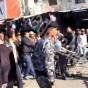حملة لإزالة البسطات من الشارع المحاذي لتل اربد الصناعي