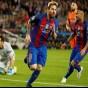 ليونيل ميسي نجم نادي برشلونة