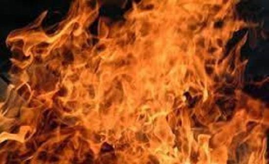 10 اصابات اثر حريق مطبخ في عمان