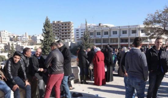 اعتصام لطلبة التوجيهي الدارسين في الخارج