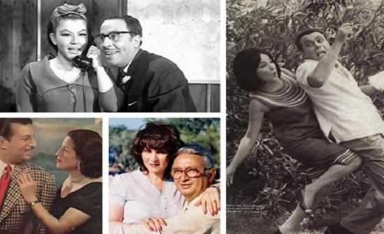 صور: أشهر ثنائيات السينما.. قصص حب حقيقية صنعت التاريخ