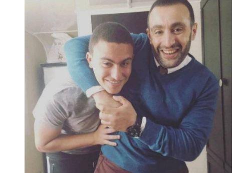 نجل أحمد السقا يشعل مواقع التواصل بفيديو ويتحدى والده بجنونه