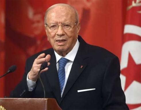 الرئاسة التونسية: تحسن حالة السبسي الصحية