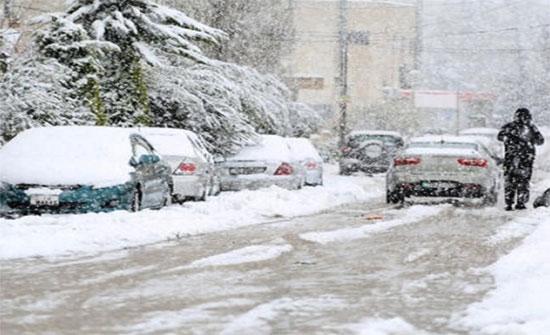 الأرصاد: تساقط الثلوج فوق مرتفعات المملكة التي يزيد ارتفاعها عن 900م