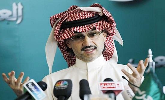 """""""مليار دولار"""" زيادة على ثروة الوليد بن طلال منذ اطلاق سراحه!"""