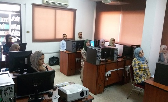 """مهندسو عجلون ينظمون دورة بعنوان """"نظم المعلومات الجغرافيةGIS """"  صور"""