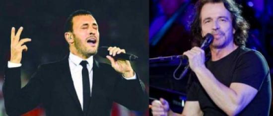 ياني وكاظم الساهر في السعودية لإحياء حفلات موسيقية في الرياض وجدة